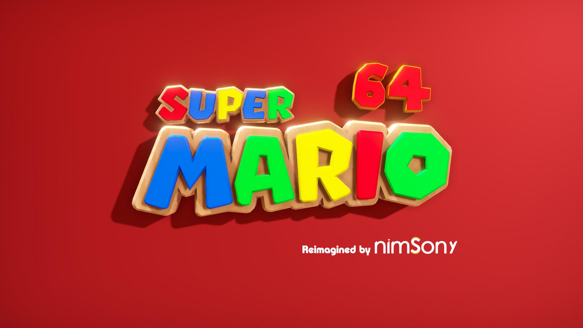 Super Mario 64 - Reimagined by NimsoNy