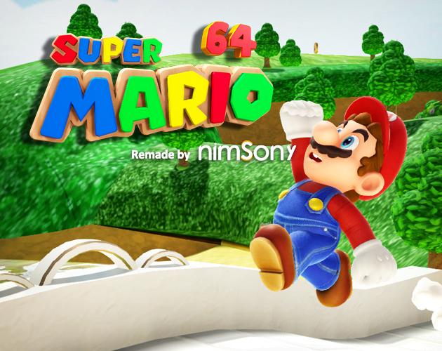 Super Mario 64 - Reimagined by NimsoNy by Nimso Ny
