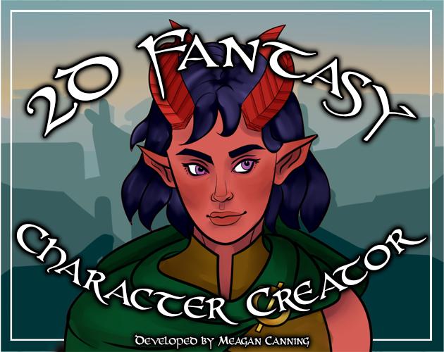 2D Fantasy Character Creator by cynomynn