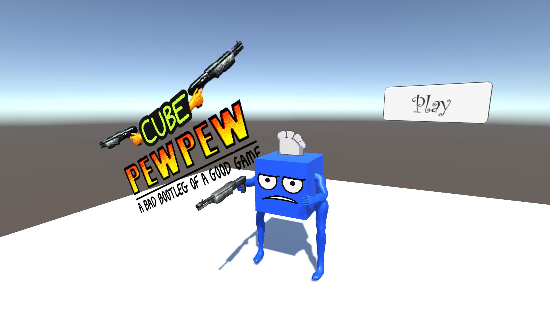Cube Pew Pew
