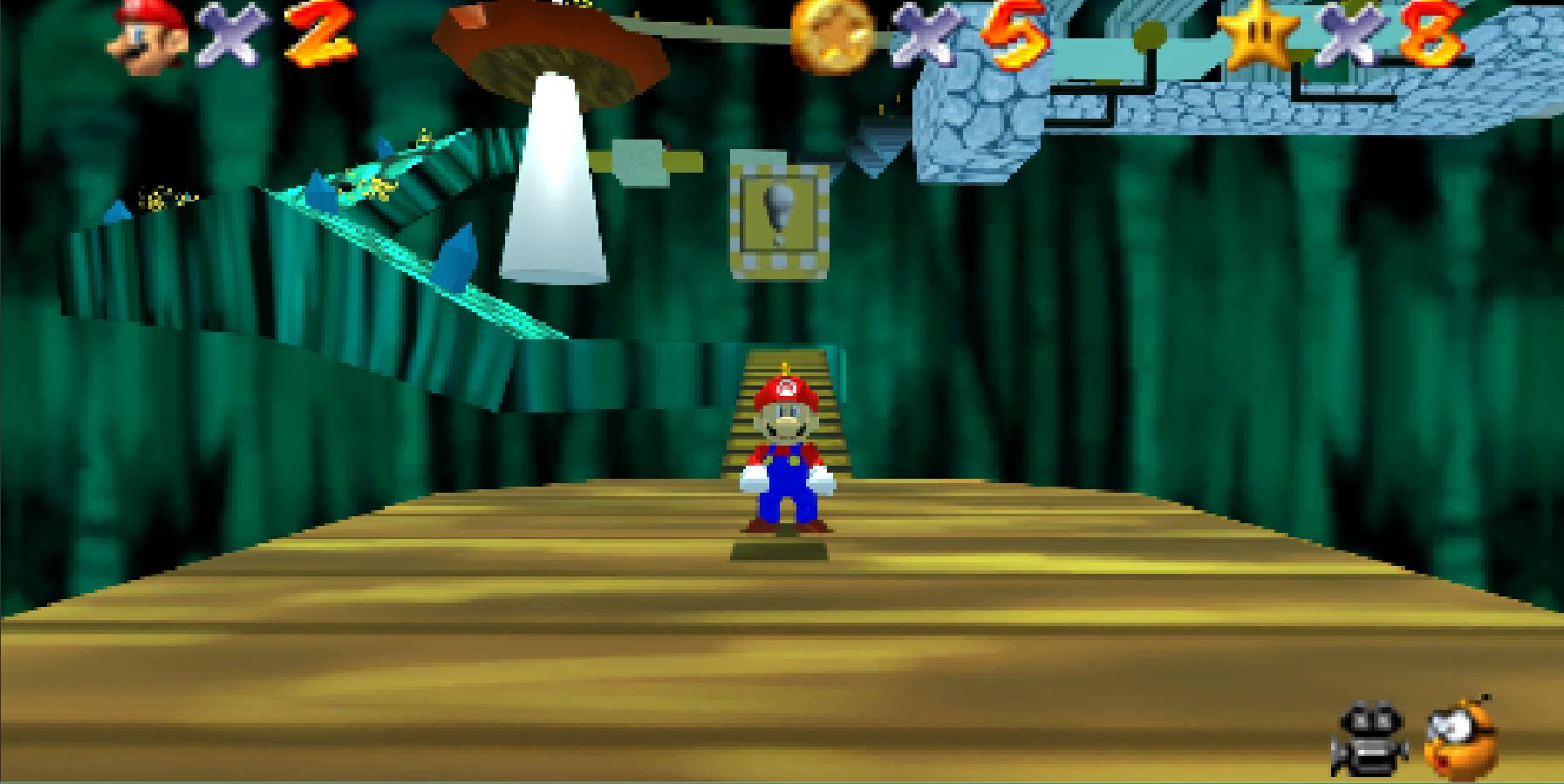 Super Mario 64 Recreation by alb812