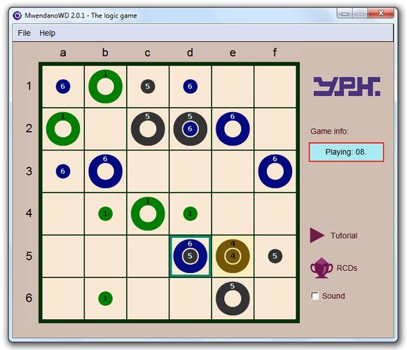 Mwendano logic game by yphsoft