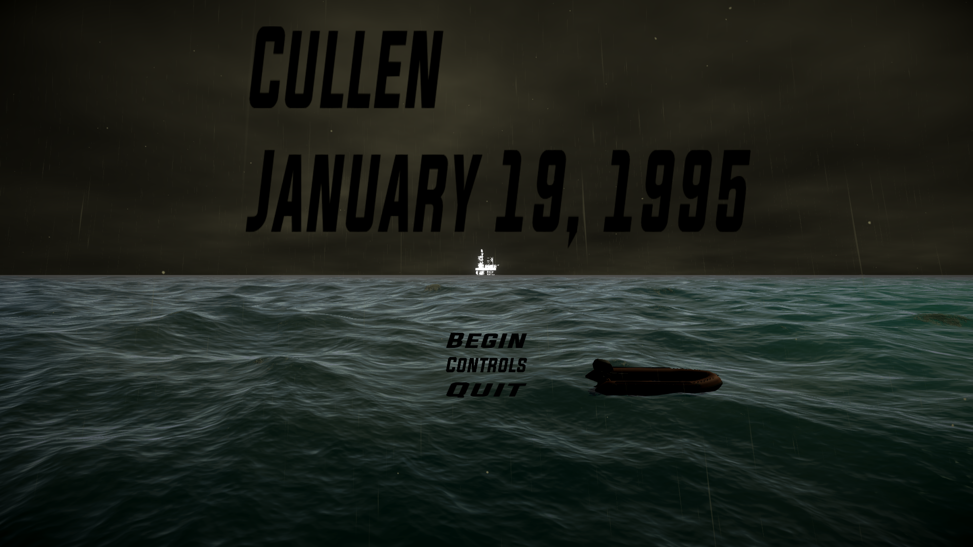 Cullen: January 19, 1995
