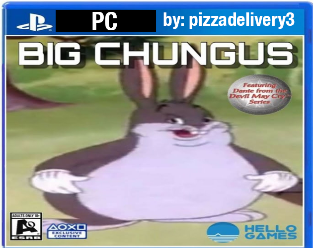Big Chungus The Game By Pizzadelivery3