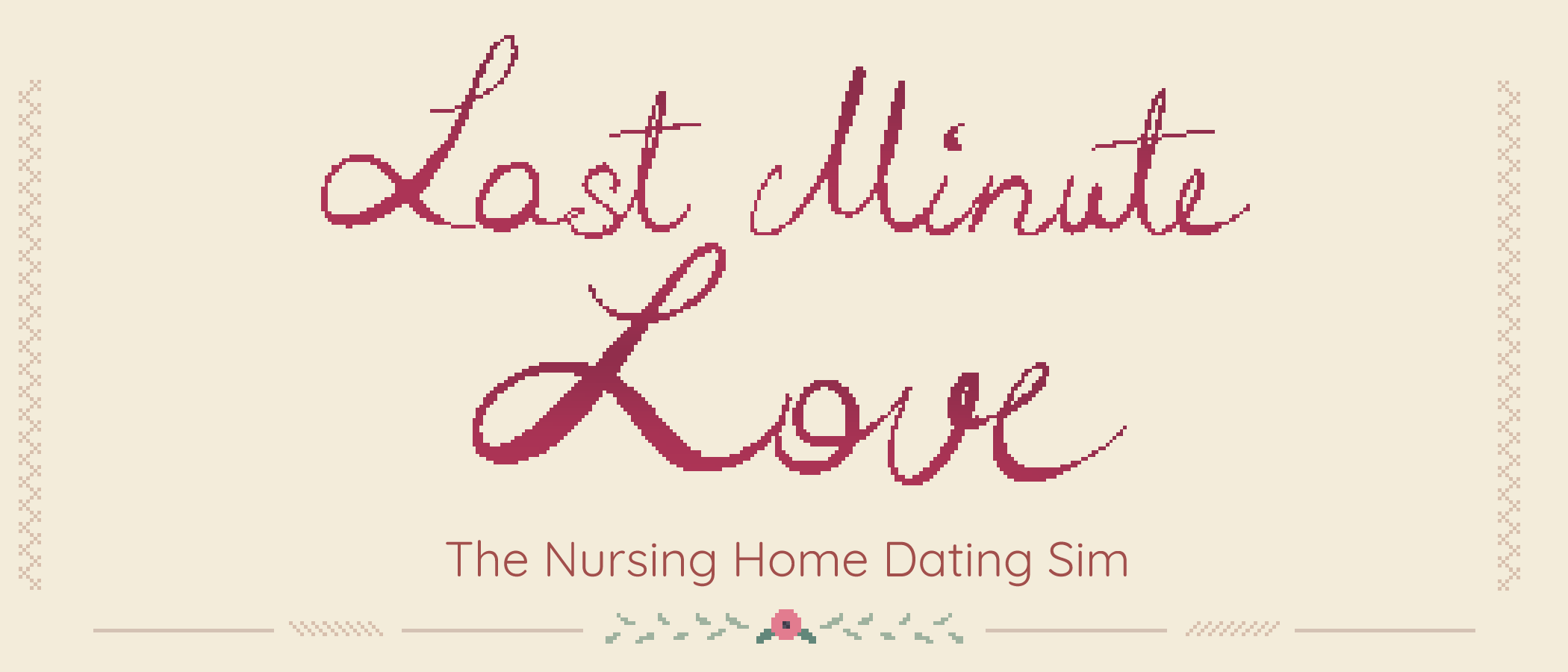 Last Minute Love – The Nursing Home Dating Sim