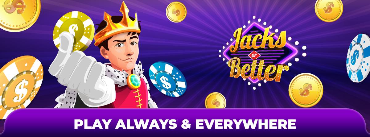 Jacks or Better Reach Vegas Video Poker Game