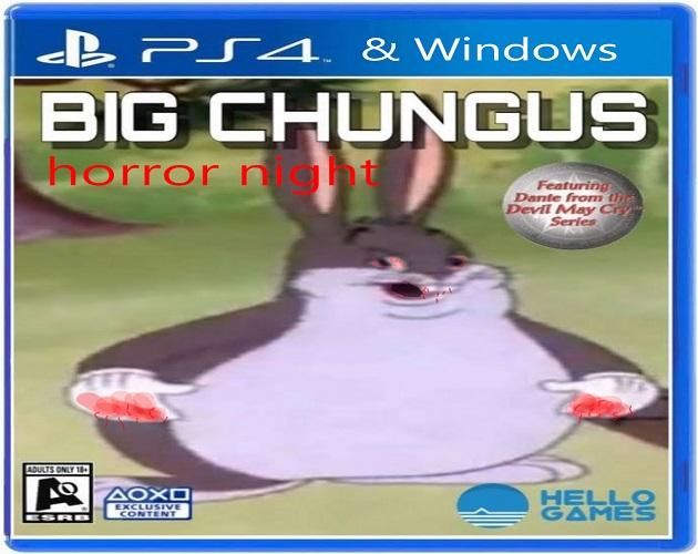 Big Chungus Horror Night By Pgdevs