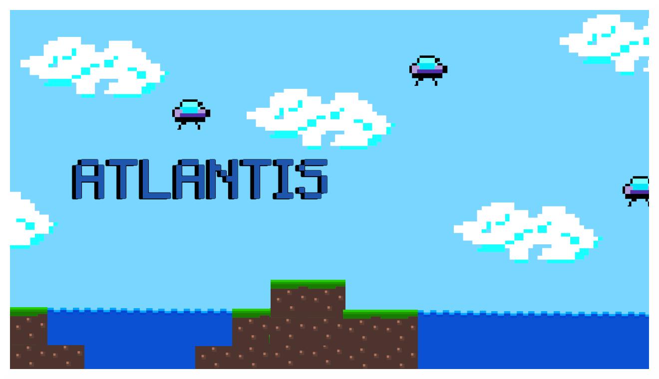 Atari Remake - Atlantis