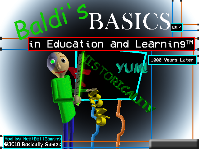 Baldi's Basics in 1000 Years