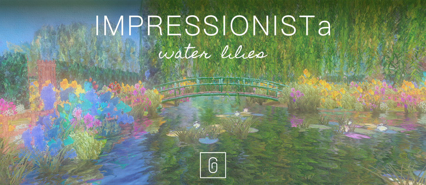 IMPRESSIONISTa - Water Lilies