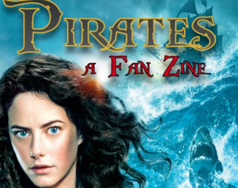 Screencap of the cover to Pirates: a Fan Zine, designed by Fen Slattery