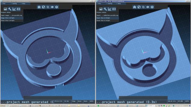 v1 30a - 3D Model Import, Pocketing Operation, Improved SVG