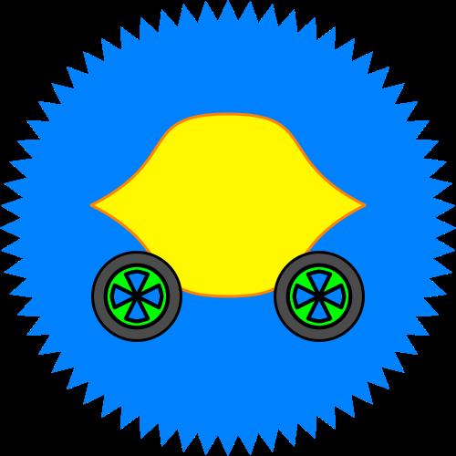 Lemon Car Seal