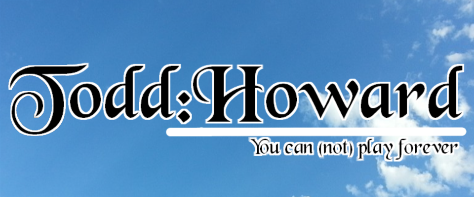 Todd Howard Visual Novel