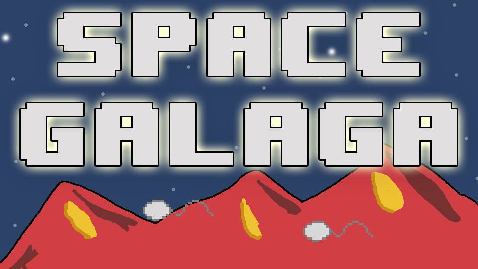 Space Galaga(mini game)