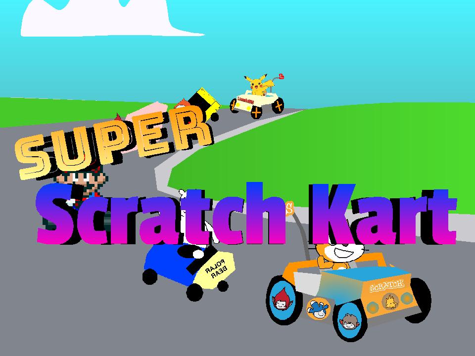 Super Scratch Kart