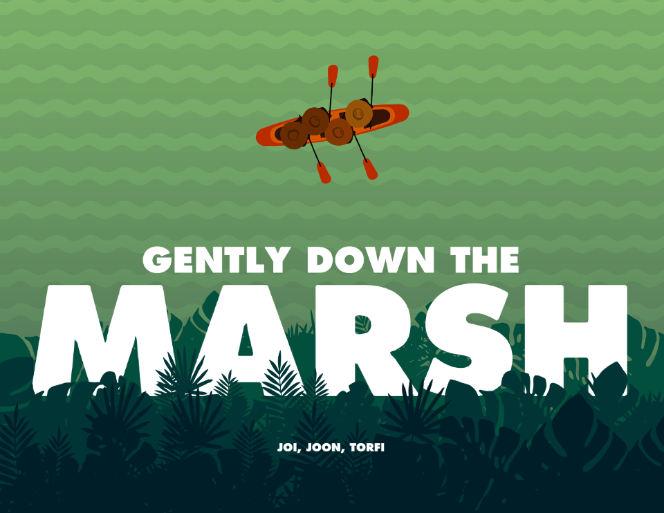 Gently Down the Marsh