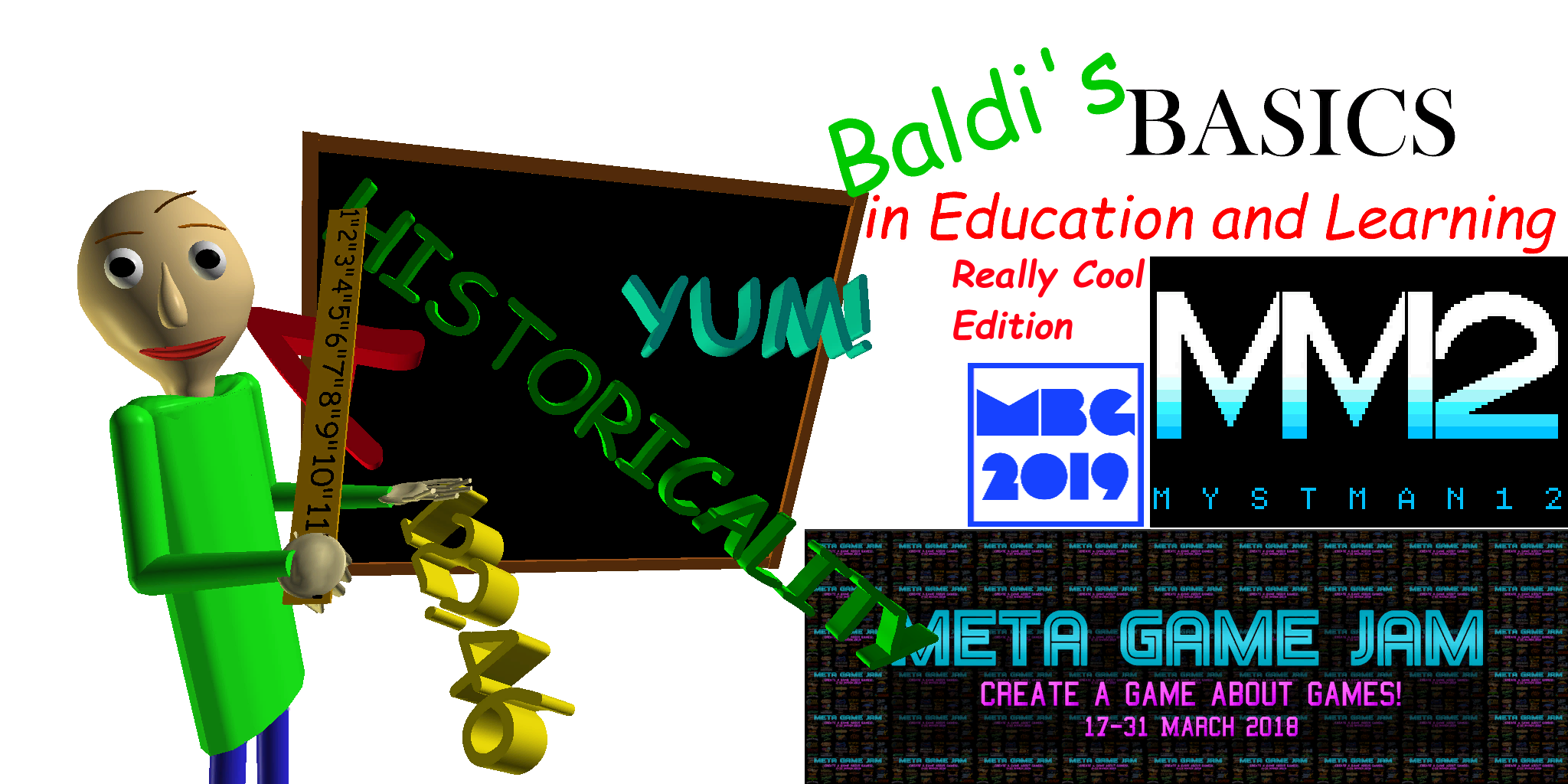 Baldi's Basics (Really Cool Edition - 1.4.1 Re-completion Update)