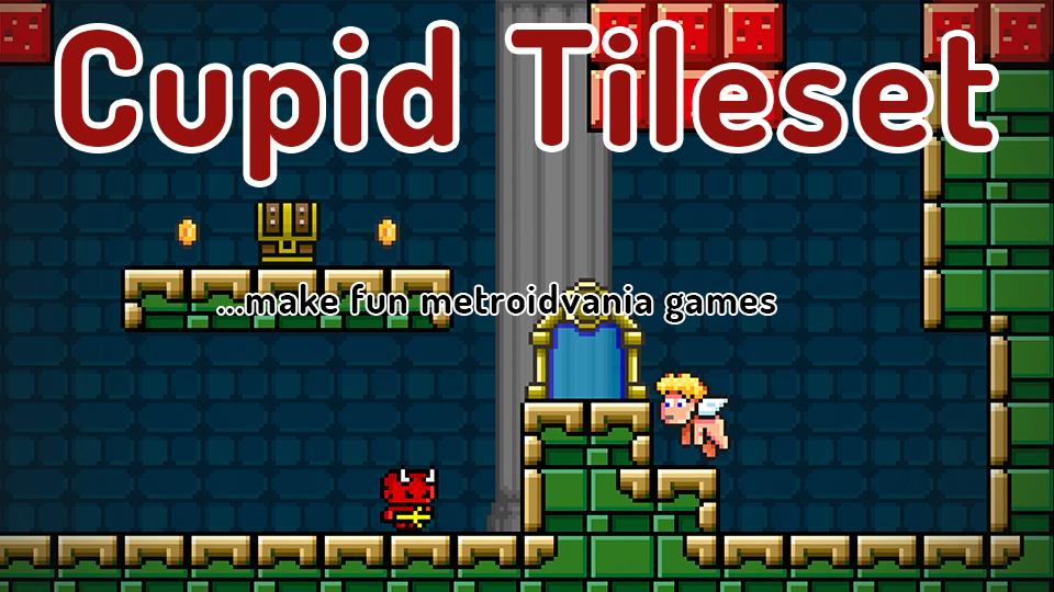 Cupid Tileset - Make Metroidvania Games