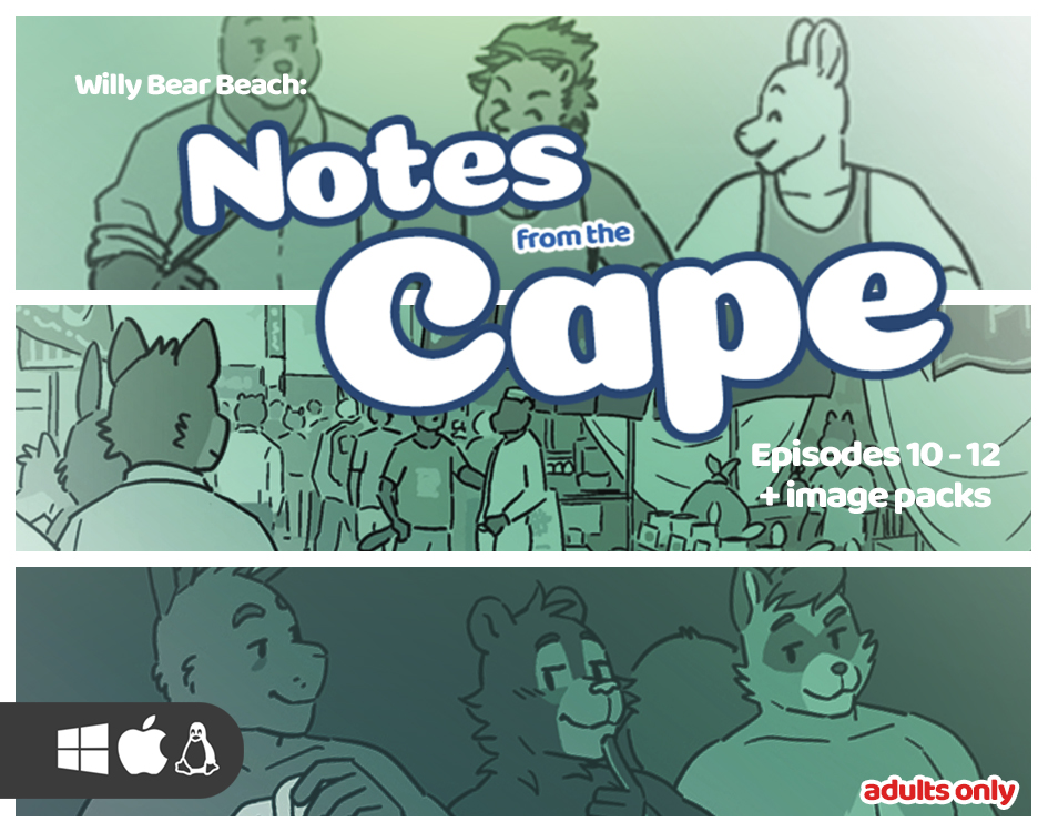 Notes from the Cape, Episodes 10-12 by Artdecade Monthly Productions