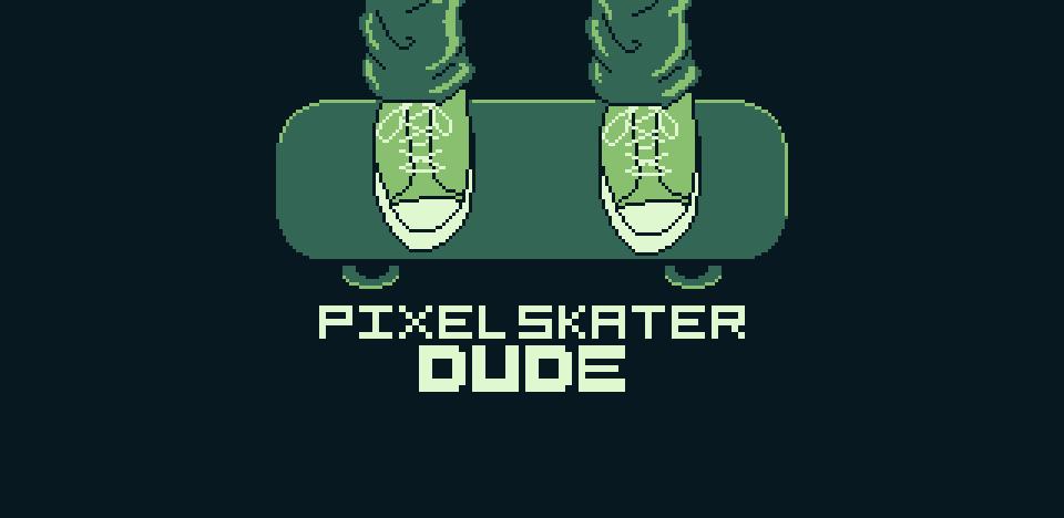 Pixel Skater Dude