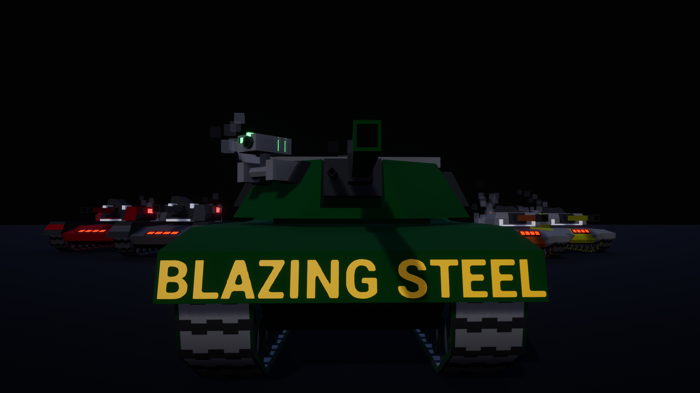 BLAZING STEEL