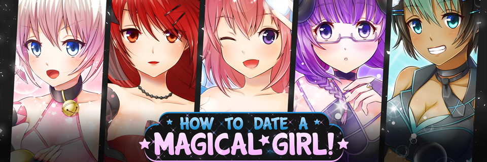 How To Date A Magical Girl! Art Book
