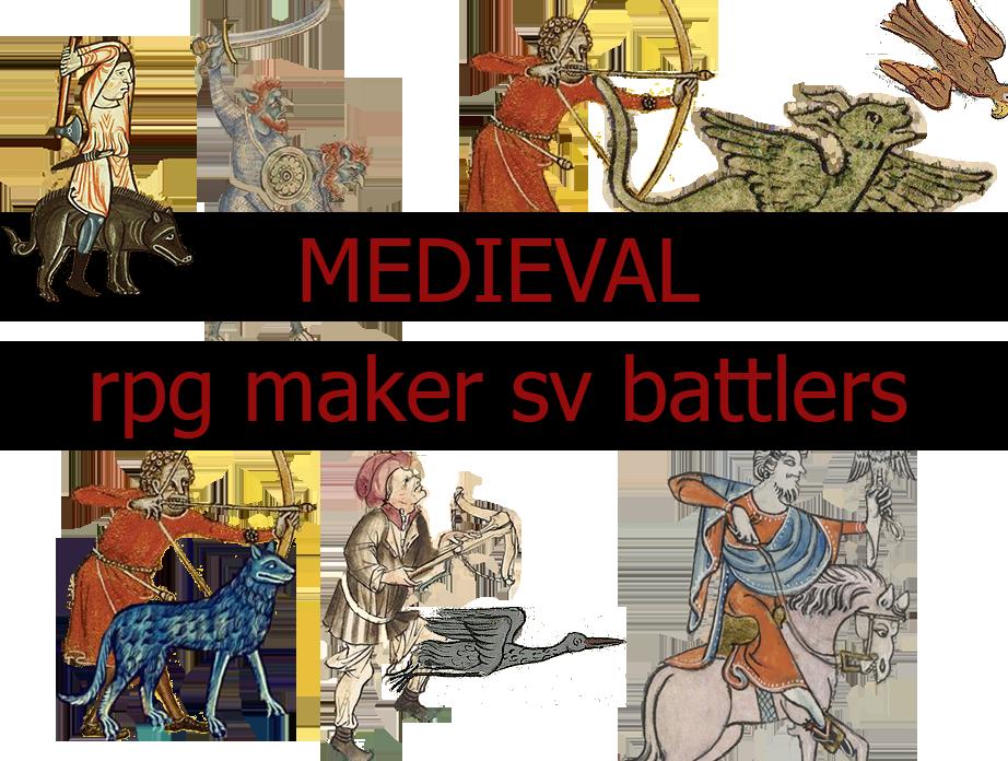 Medieval RPGmaker Battlers - Medieval RPGmaker Battlers by DimosAdonis