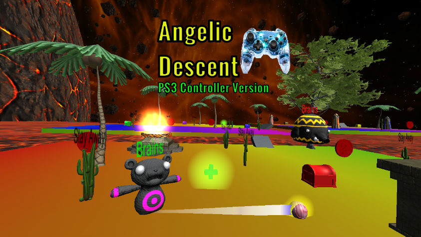 Angelic Descent PC GAME PS3 controller version