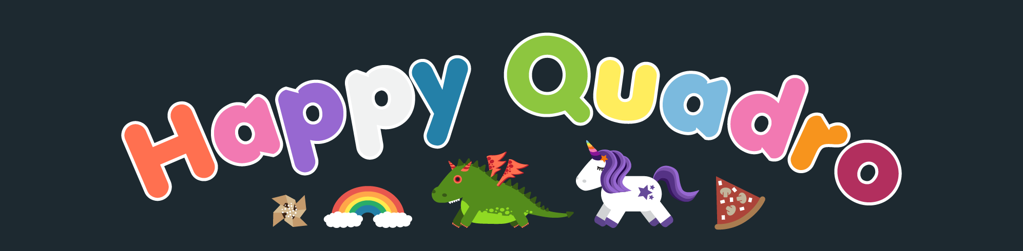Happy Quadro