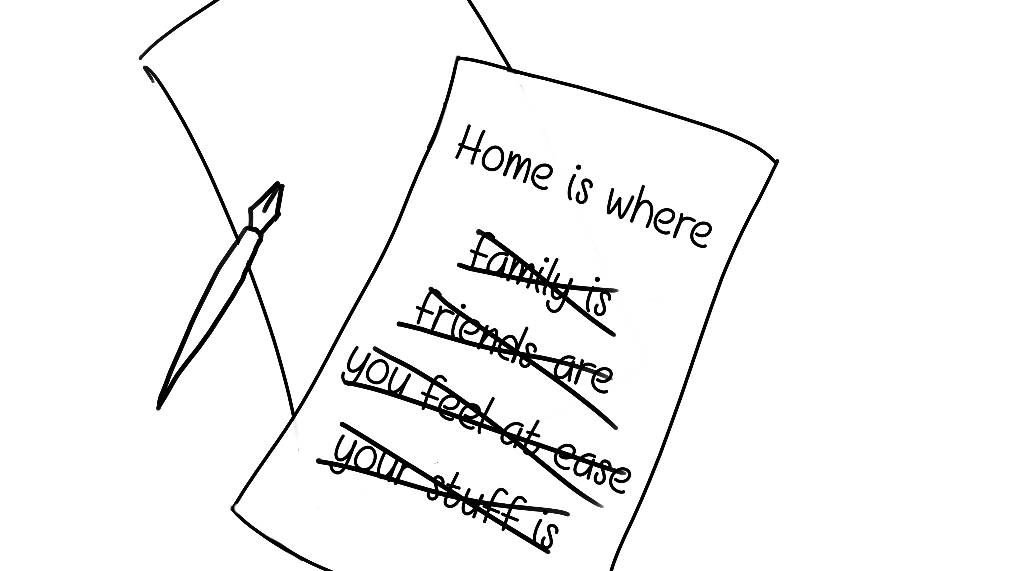 Home is where X