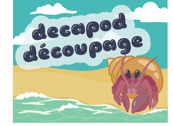Decapod Decoupage