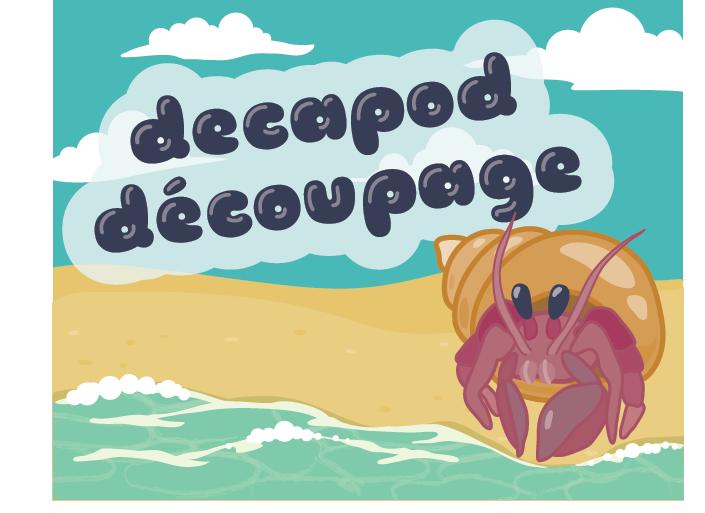 Decapod Découpage