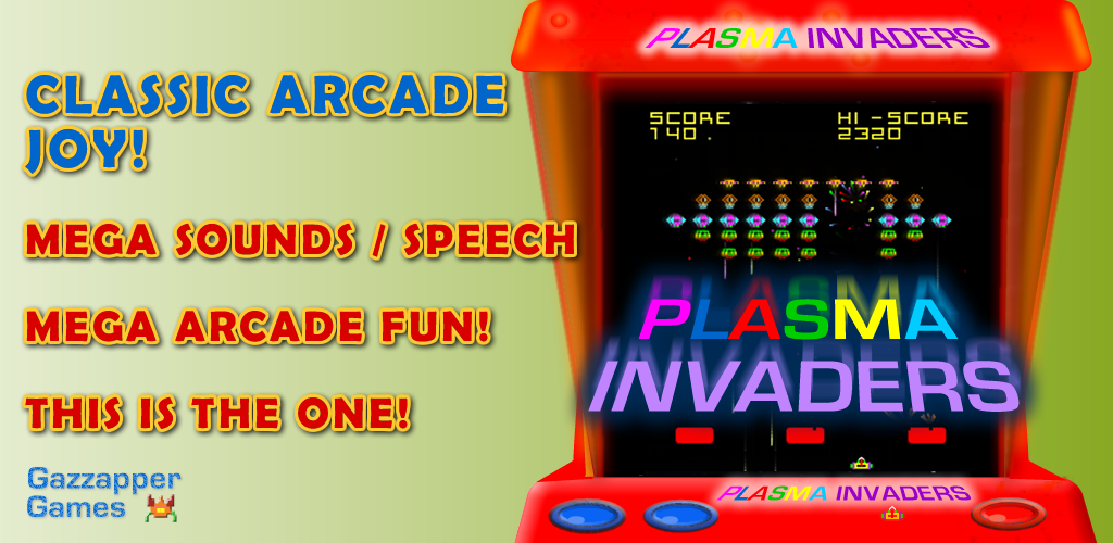 Plasma Space Invaders (Classic Arcade Experience)