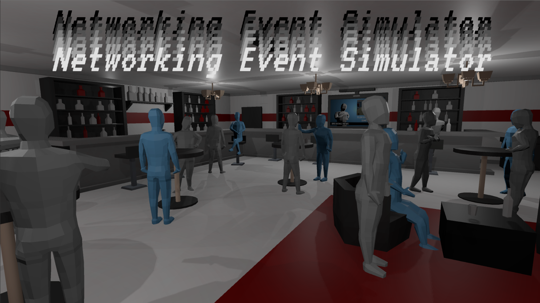 Networking Event Simulator