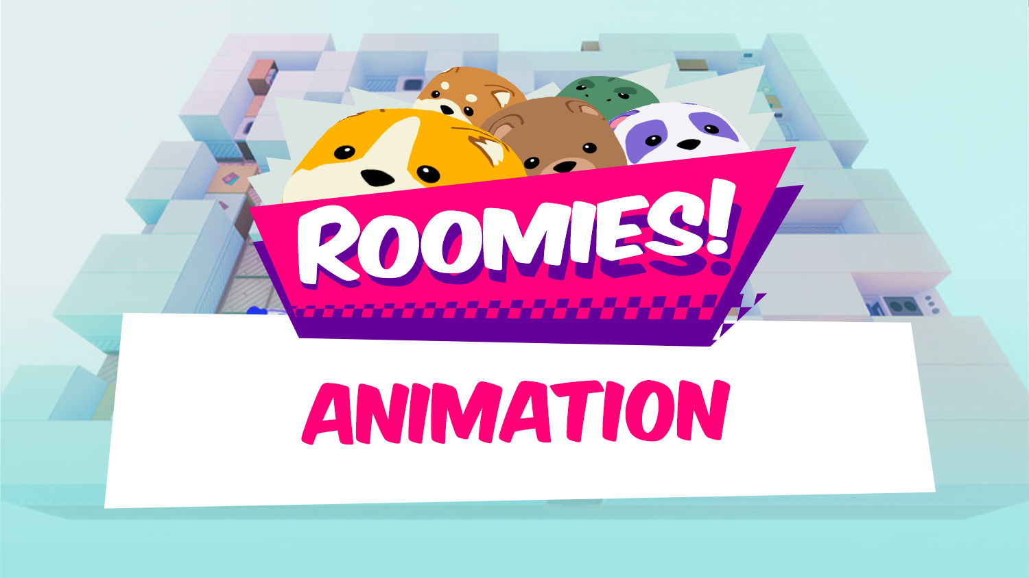Mesh Deformation and Animation Adventure - Roomies by 3djon
