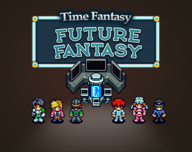 Future Fantasy Tiles and Characters Pack by finalbossblues