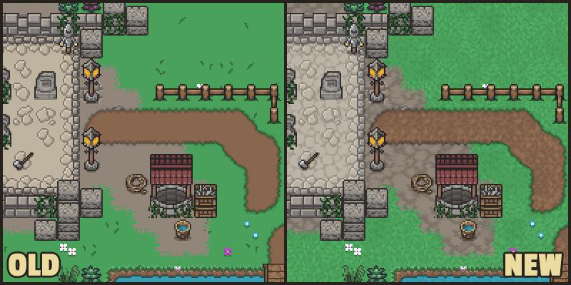 Community-Vote) Considering new ground sprites for stein
