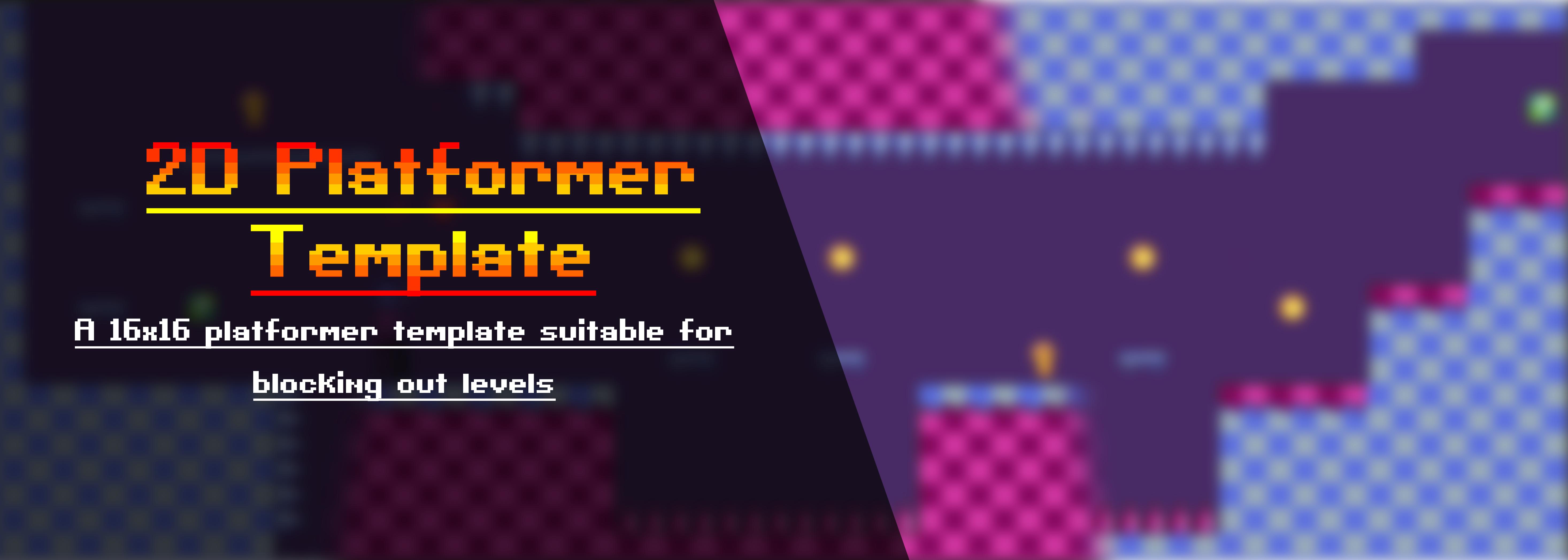 2D Platformer Template
