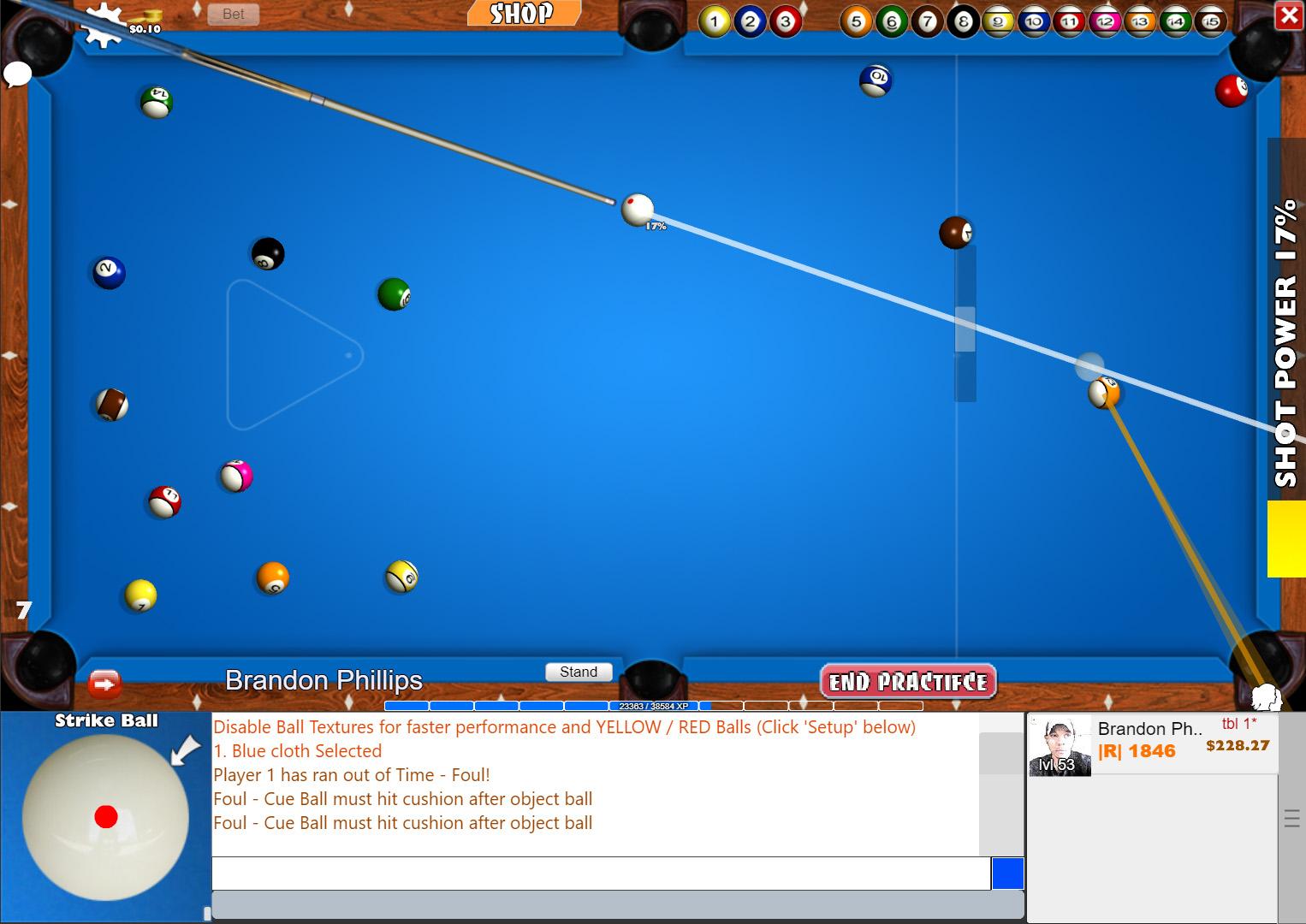 Flash Pool Game