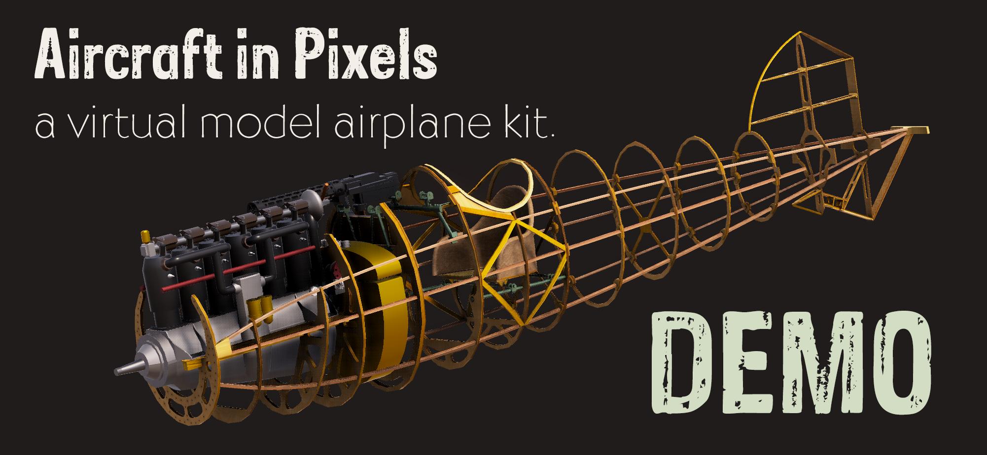 Aircraft in Pixels (Demo)