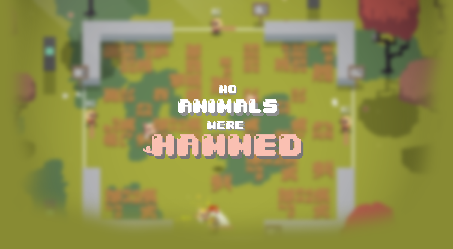 No Animals Were Hammed