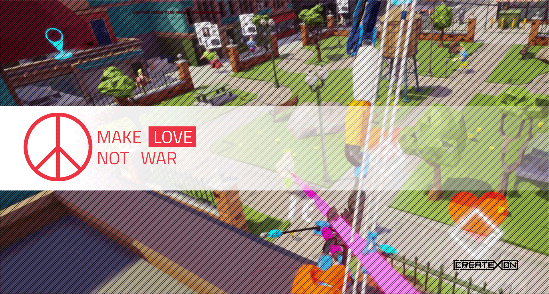 Make Love Not War - VR