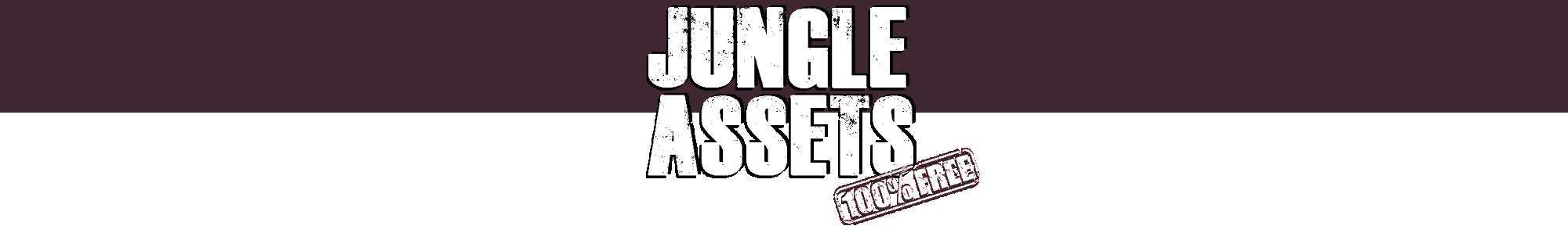 Jungle platformer assets