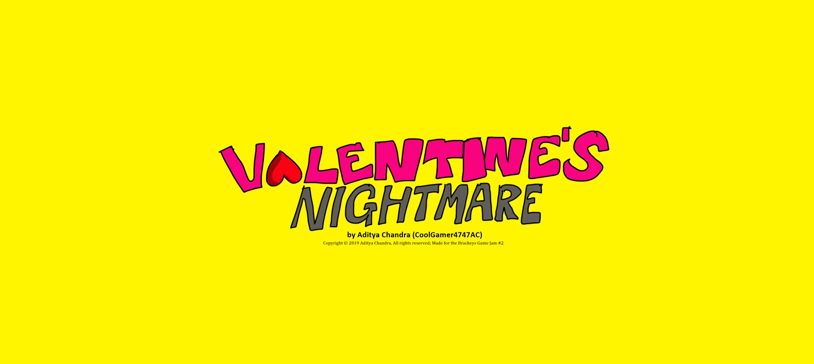 Valentine's Nightmare