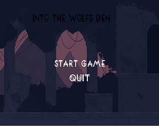 Into the Wolf Den by Ahdrick for Brackeys Game Jam #2 - itch io