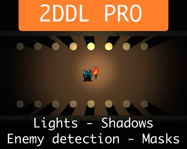2DDL PRO! Dynamic lights and Shadows by apptouch