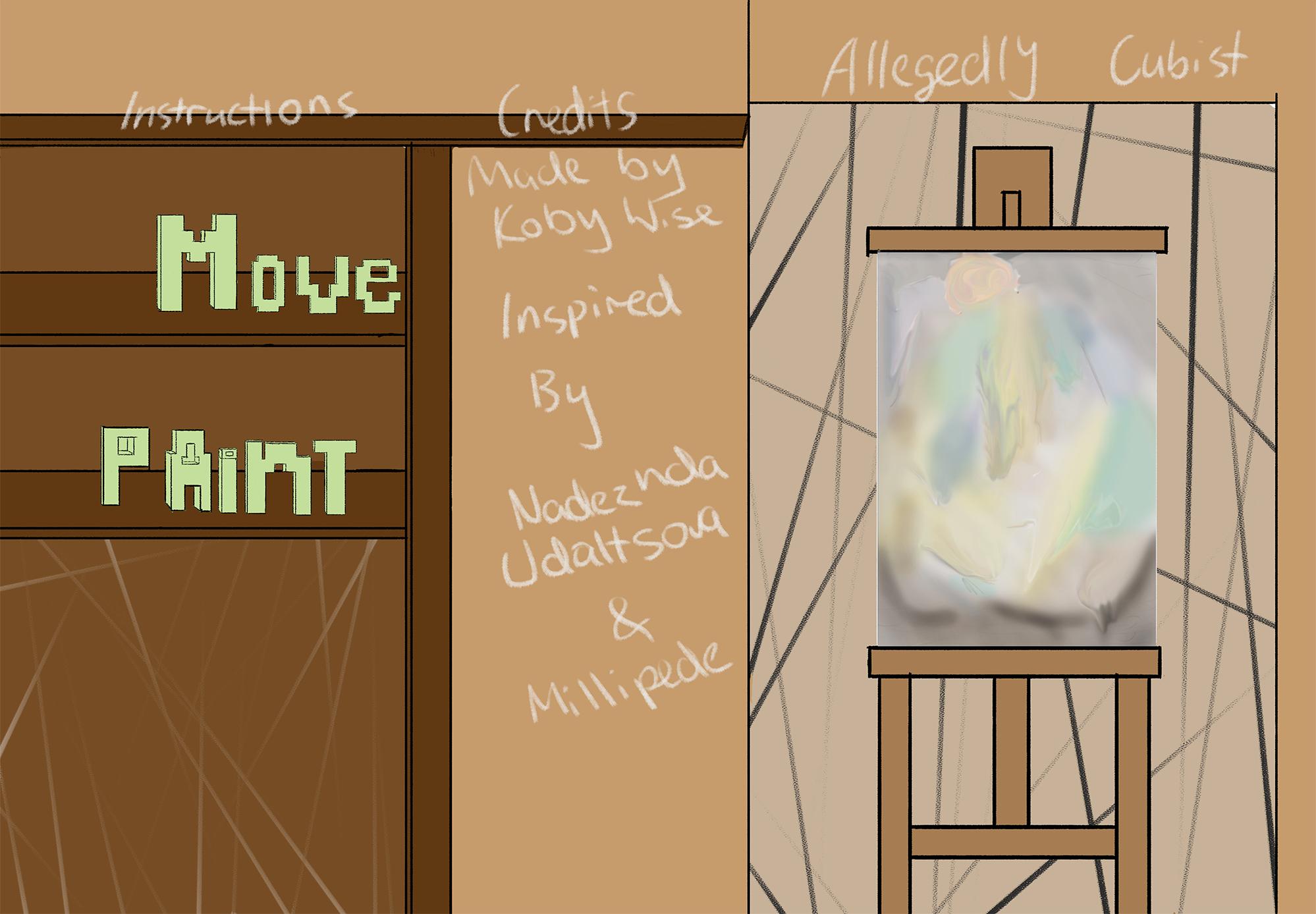 Allegedly Cubist