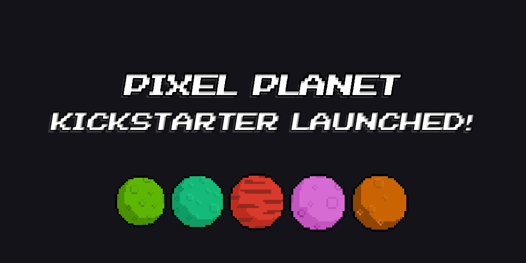 Pixel Planet Demo