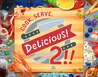 Cook, Serve, Delicious! 2!! [$12.99] [Action] [Windows] [macOS] [Linux]